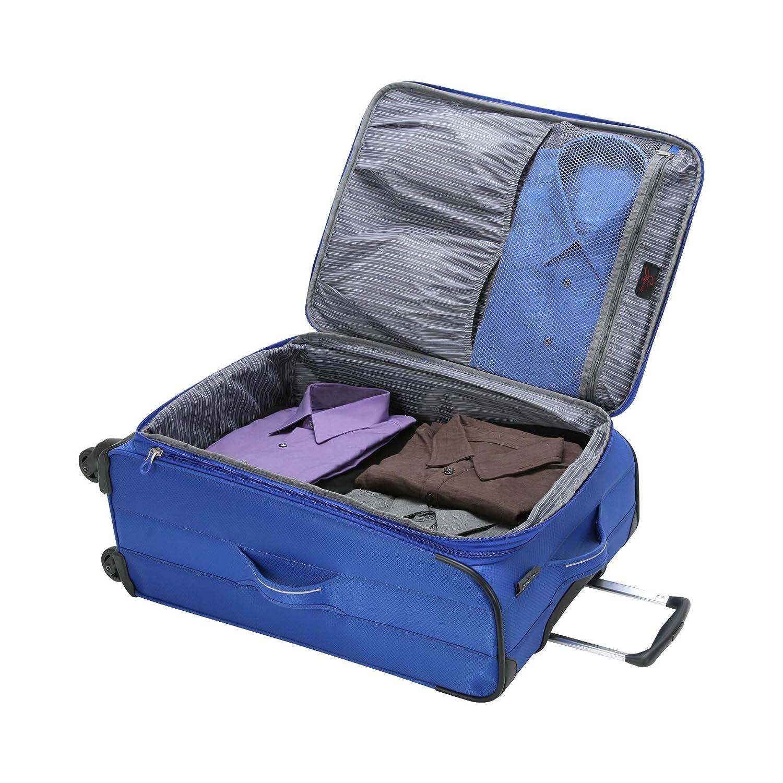 28 Skyway Luggage Mirage Superlight 3-Piece Spinner Set 24 20 Black - 3pc Set 448-3P-SET