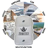 Zumatico Inflatable Foot Rest for Air Travel | Airplane Footrest Pillow | Perfect for Kids on Long Flights