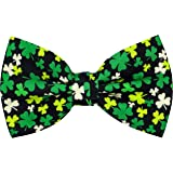 OCIA Holiday Pre-Tied Bow Tie Festival Pattern Bowtie for Mens & Boys St Patricks Day Easter