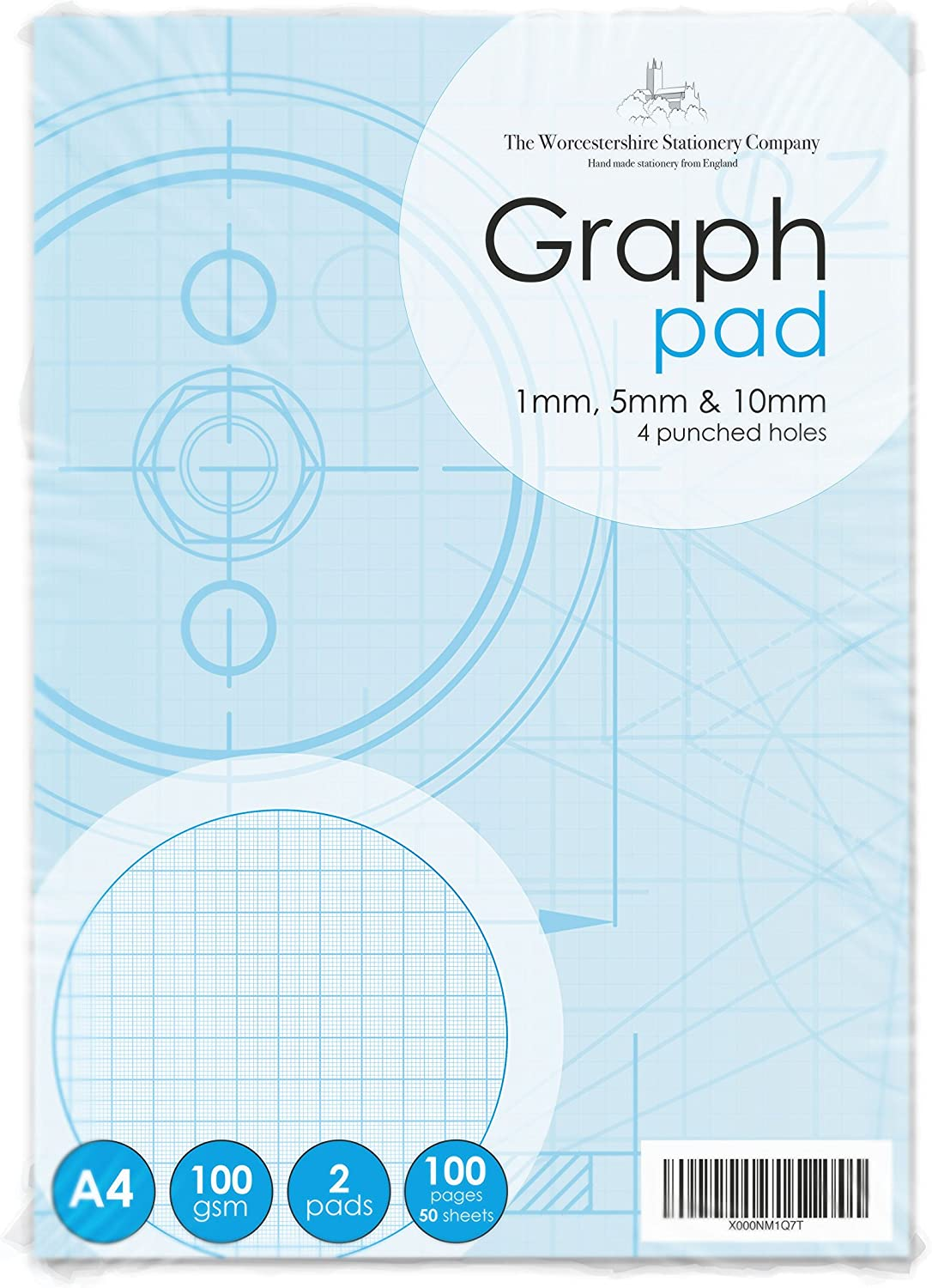 A4 Tracing Paper Pad Drafting Paper Tracking 40 Sheets Home School Office Use UK