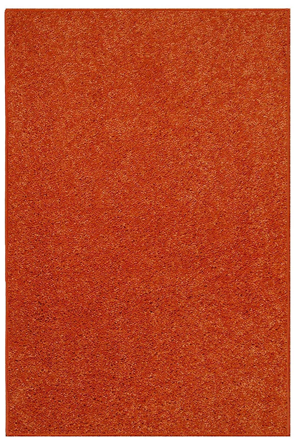 d0185715f7f3a Maple Home Area Rug Indoor, Living Room, Bedroom Polyester - 2'x4' Orange