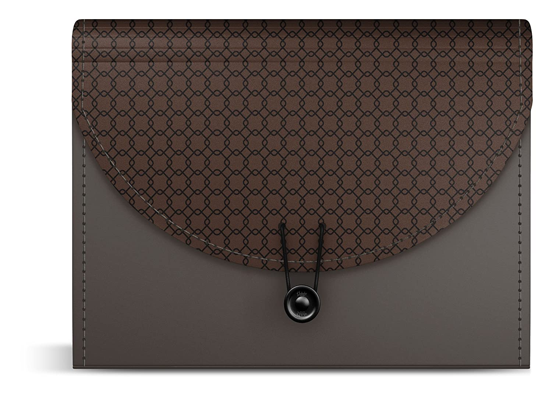 iScholar Expanding 13 Pocket Receipt Folder, Color May Vary 30611