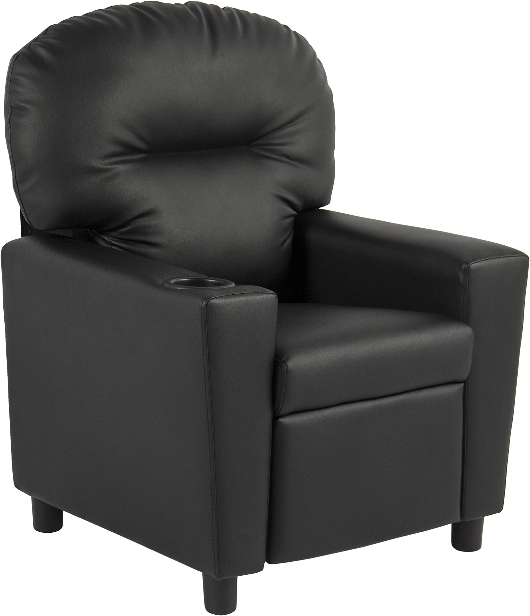 BCP Contemporary Black Leather Kids Recliner.  sc 1 st  Amazon.com & Living Room Chairs | Amazon.com islam-shia.org