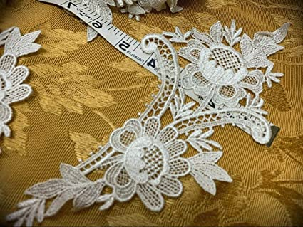 Lace Trim Cotton Ribbon Vintage for DIY Art Crafts Dress Embellishment Gift Wrap