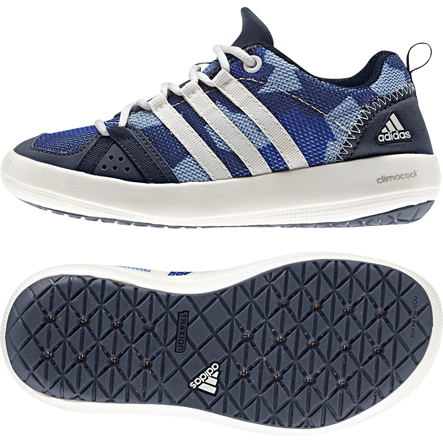 huge discount a98ea 2ea52 adidas outdoor Climacool Boat Lace Water Shoe (Little Kid/Big Kid)