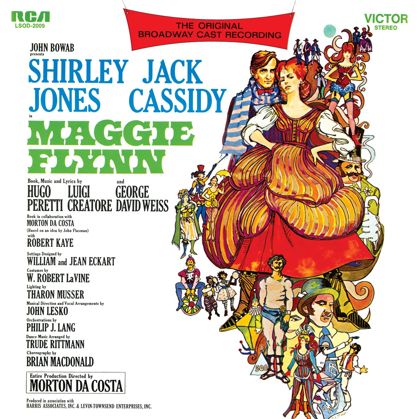 Maggie Ranking TOP11 Flynn 1968 Reservation Original Broadway Cast