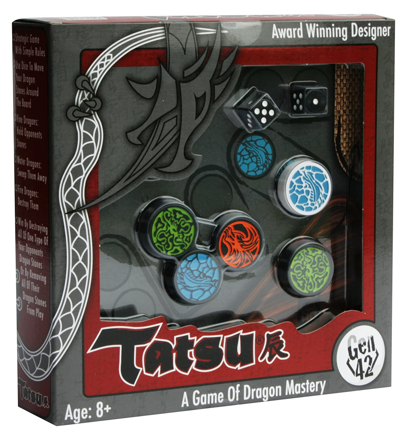 Smart Zone Games Tatsu Board Game 300 Piece
