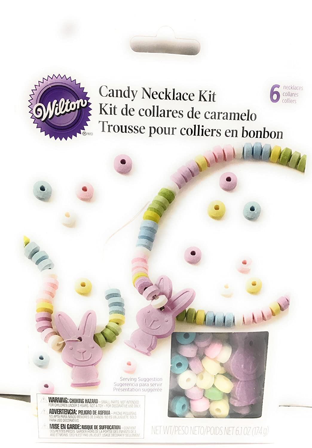 Amazon.com: Wilton Candy Necklace Party Pack (Martini, 1 Box of 8): Kitchen & Dining