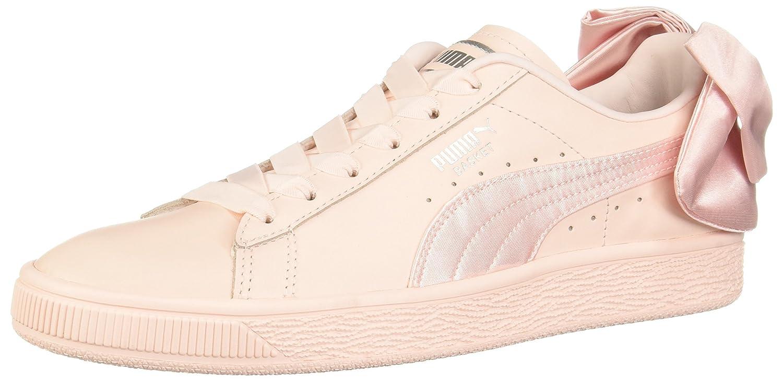 PUMA Women's Basket Bow Wn Sneaker B07521JZJP 7.5 B(M) US|Pearl-pearl