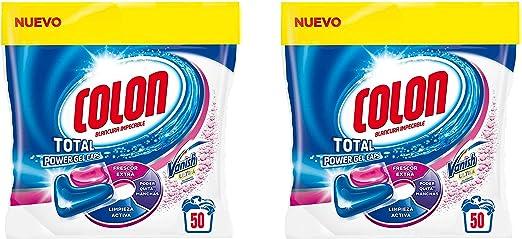 Colon Detergente para Lavadora de Ropa Formato Capsulas con ...