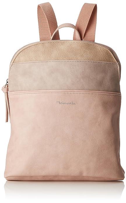 Tamaris - Khema Backpack, Bolsos mochila Mujer, Pink (Rose Comb.), 8.5x31x27 cm (B x H T): Amazon.es: Zapatos y complementos