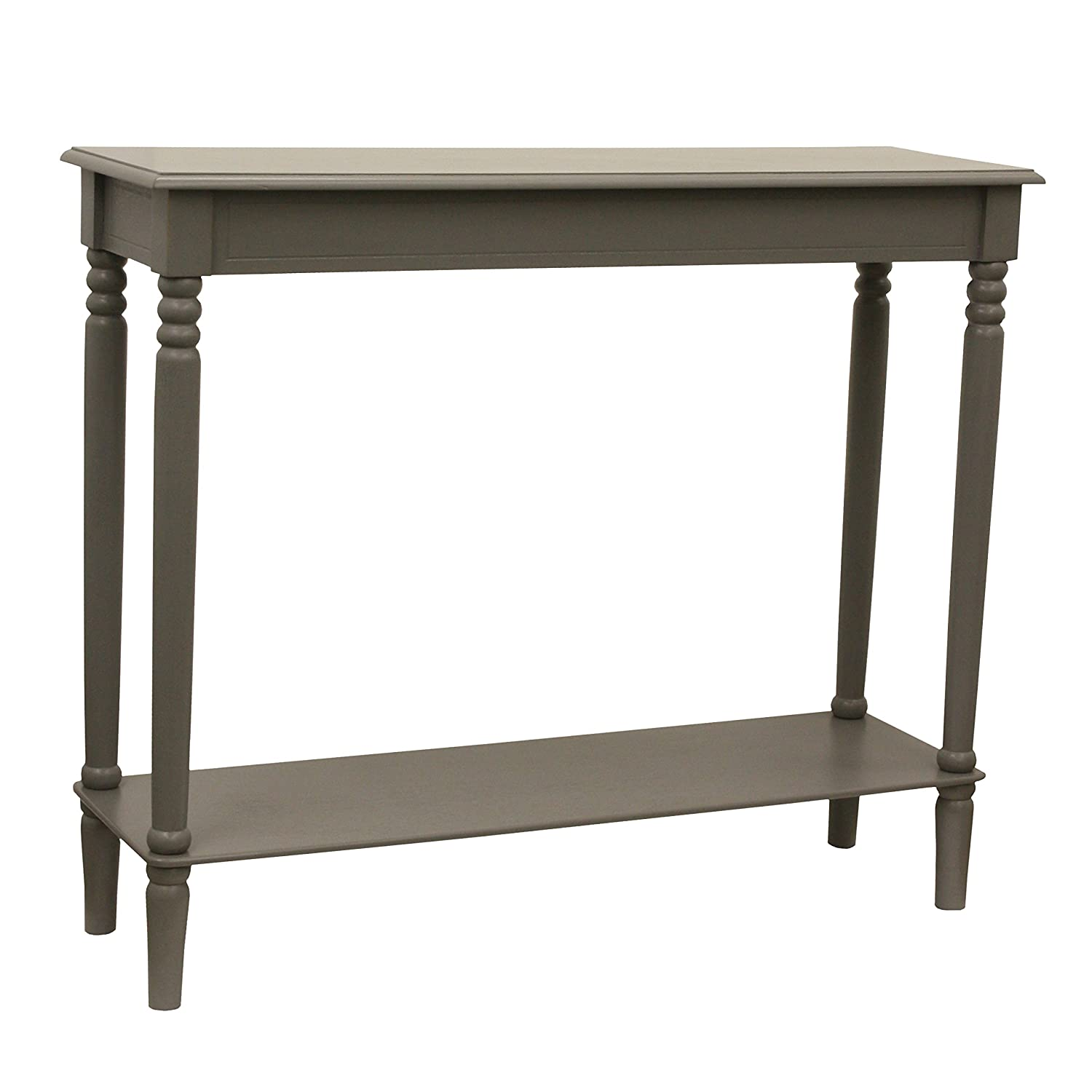 D cor Therapy FR1863 Console Table Eased Edge Gray