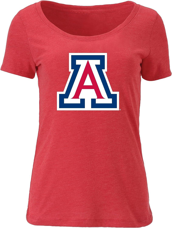 Ouray Sportswear NCAA Womens Womens Tri Blend Scoop-Neck Tee