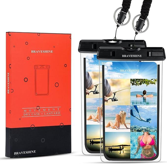 5pcs Swimming Surfing Phone Outdoor Waterproof Bag Dry Bag for Mobile PhoneH.MHI
