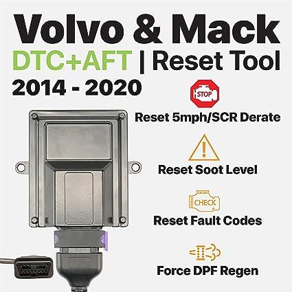 OTR Performance Volvo Mack 2014-2020 | Heavy Duty Diagnostic Tool | Forced  DPF Regen | Reset Soot Level | Reset SCR Derate | Volvo D11 D13, Mack MP7,