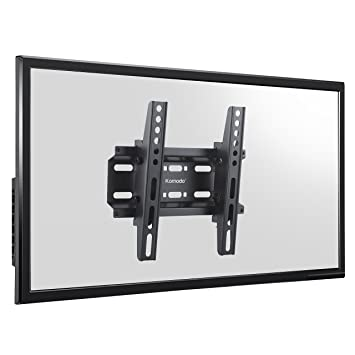 d43c9a0090be9 Komodo Ultra fin inclinable support mural de TV Support de fixation pour  LED LCD