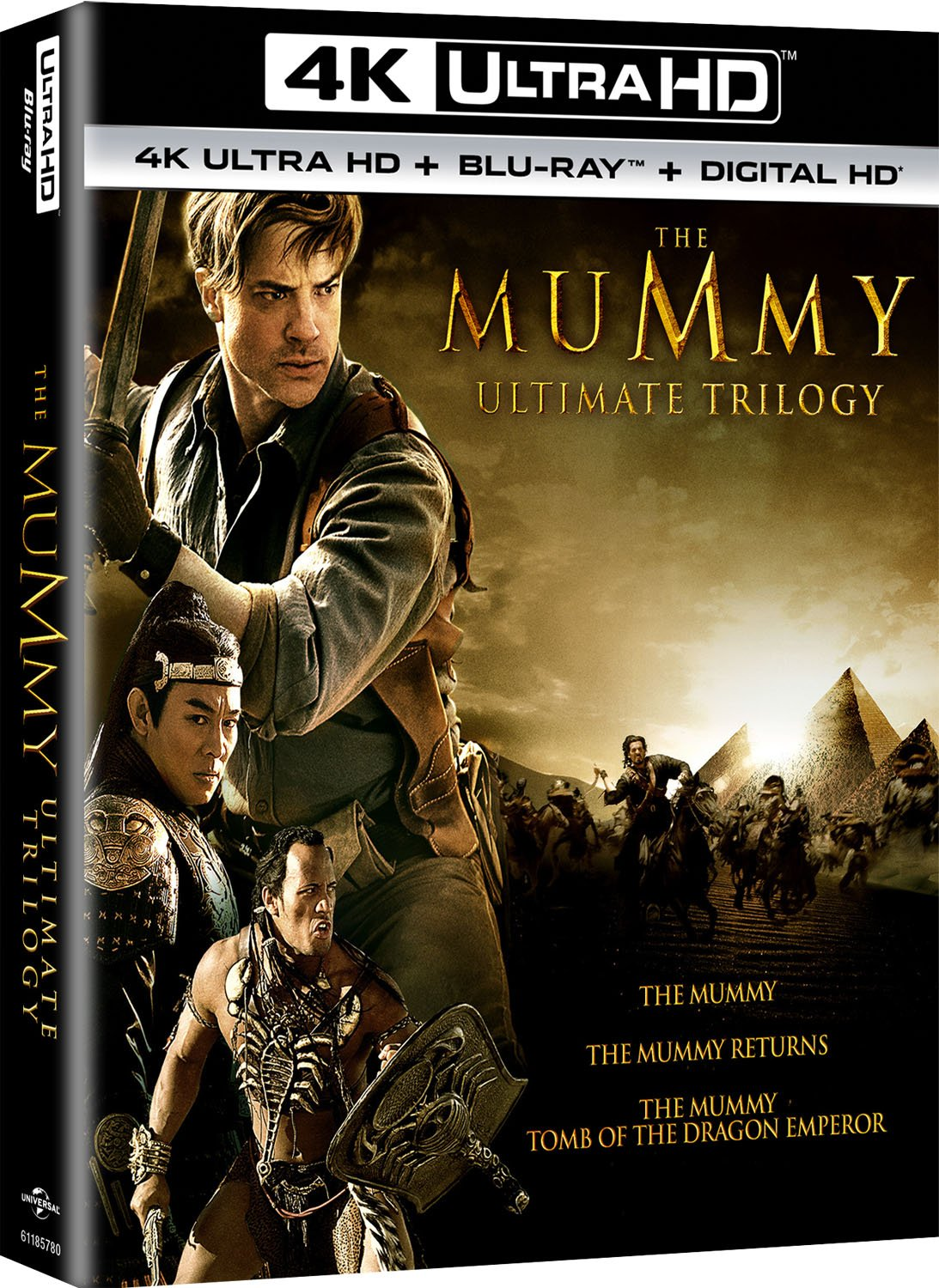 Amazon.com: The Mummy Ultimate Trilogy [Blu-ray]: Brendan Fraser ...