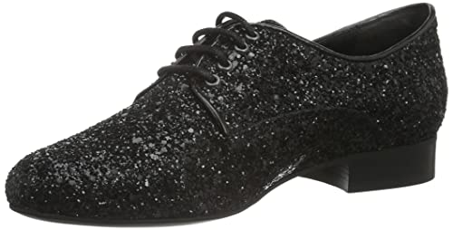 Womens ES 30848 Glitter Derbys Buffalo