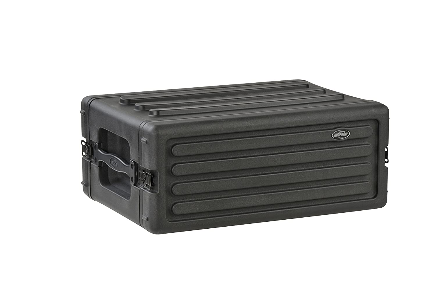 SKB 1SKB-R6S 6U Shallow Roto Rack with Steel Rails Front/Back, 10.5-Inch Deep Rail to Rail SKB Cases