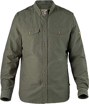 FJALLRAVEN Övik Lite Shirt M Camisa de Manga Larga, Hombre, Mountain Grey, XL: Amazon.es: Deportes y aire libre