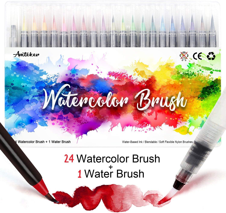 Watercolor Brush Stift-Set