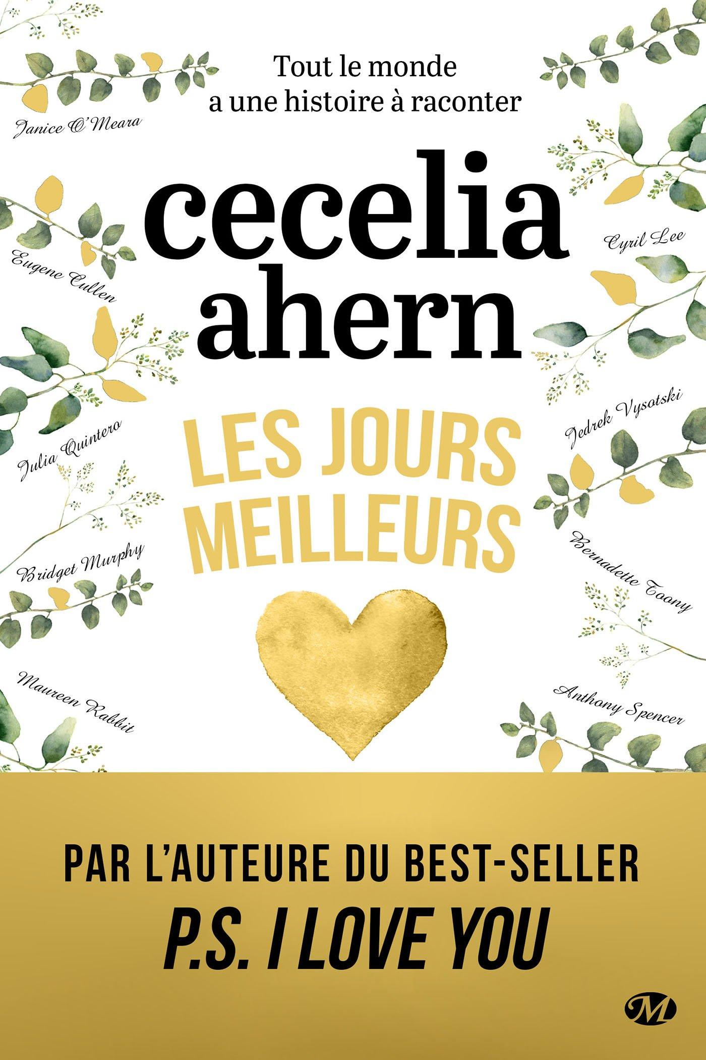 Les jours meilleurs : le nouveau roman de Cecelia Ahern