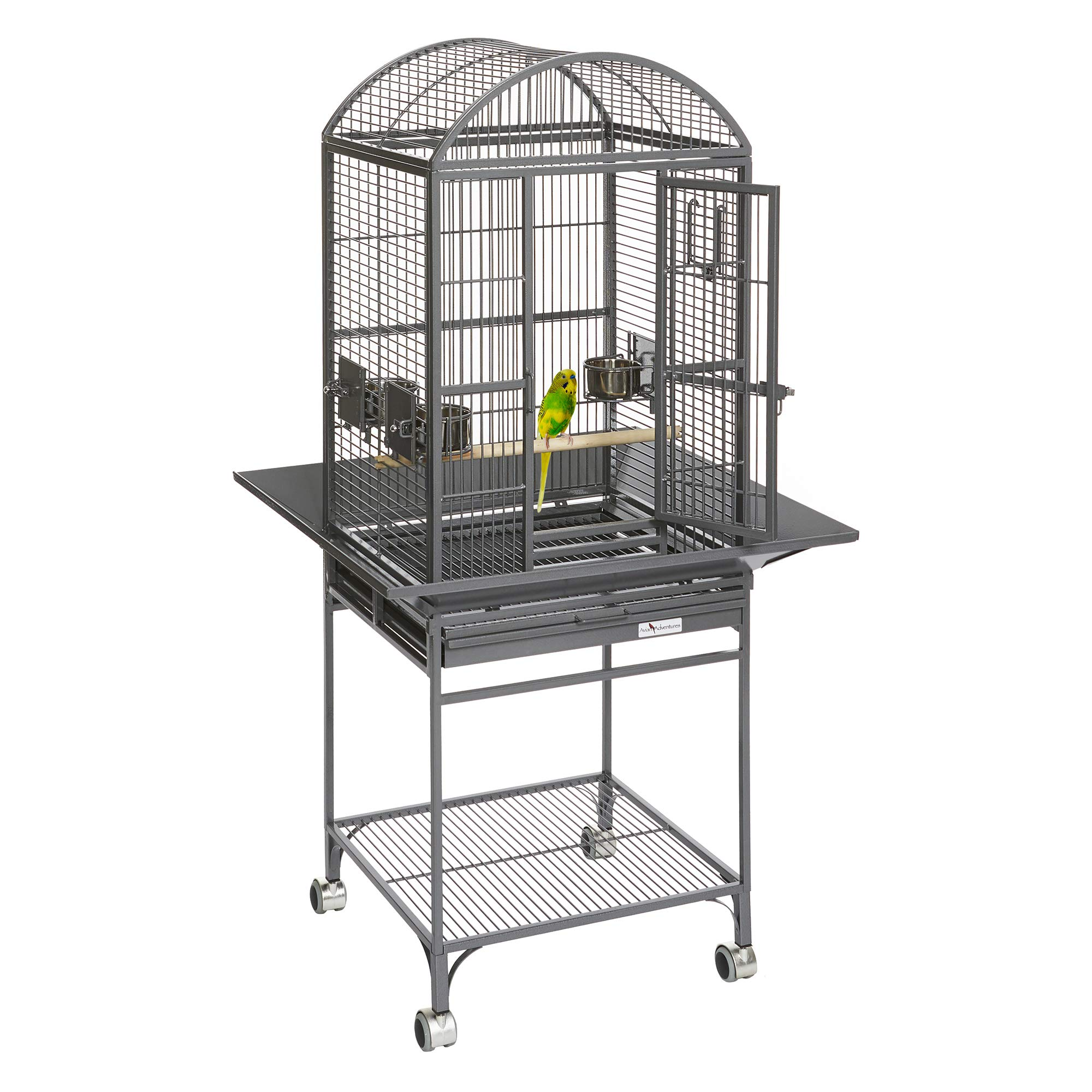MidWest Homes for Pets Nina Bird Cage-Platinum Dome Top by MidWest Homes for Pets