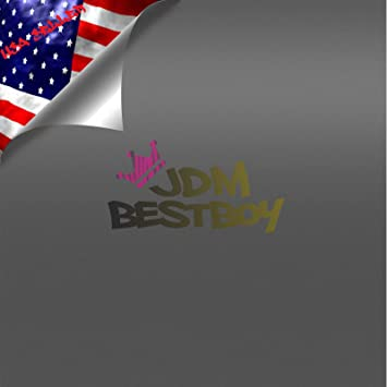 US Flag Decals Premium Matte Black Cast Vinyl