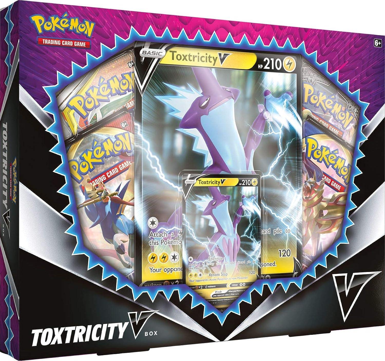 Pokemon TCG: Toxtricity V Box: Amazon.es: Juguetes y juegos