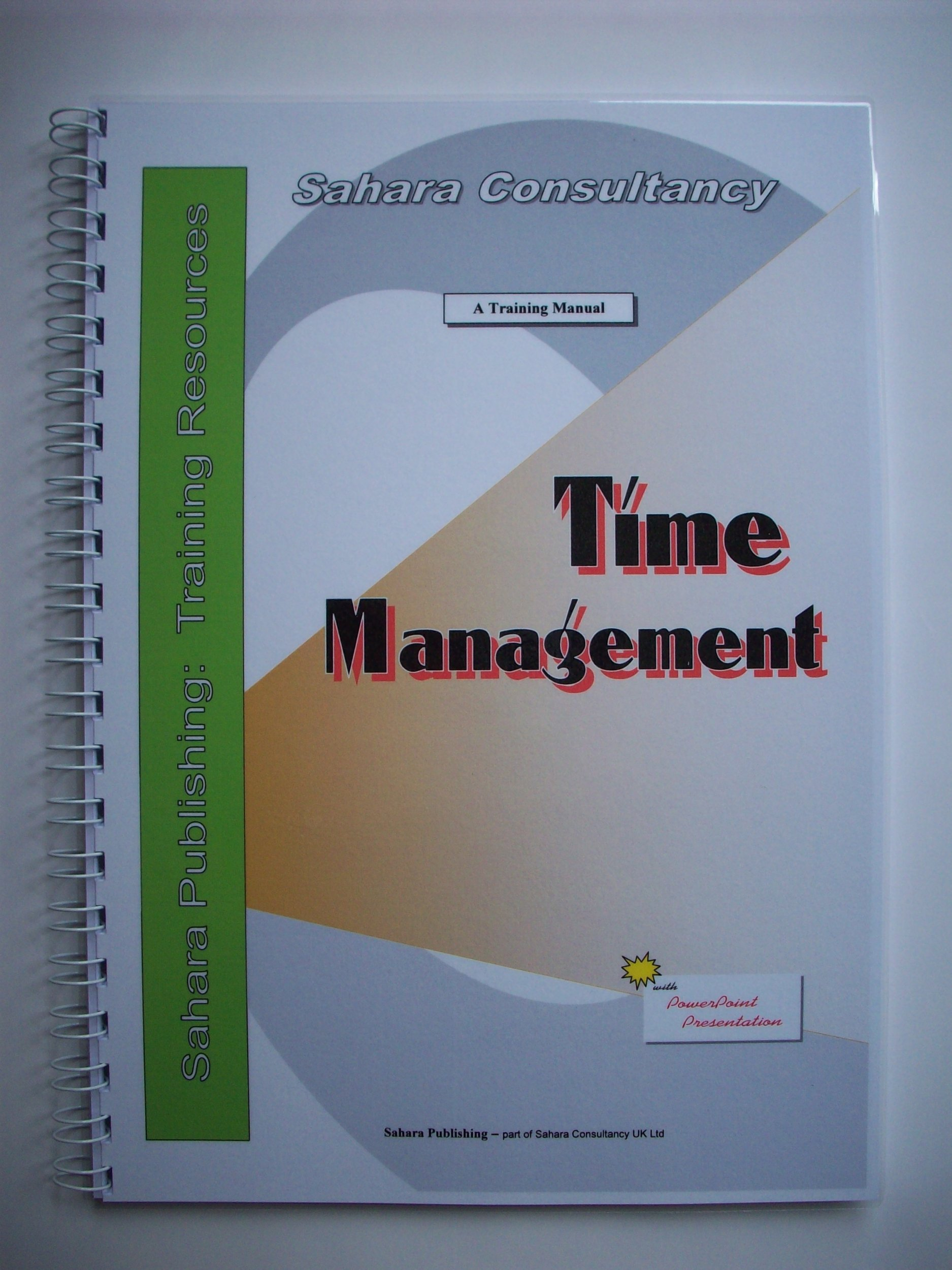 Time Management, A Training Manual: Sandy Leong: 9781904942092: Amazon.com:  Books