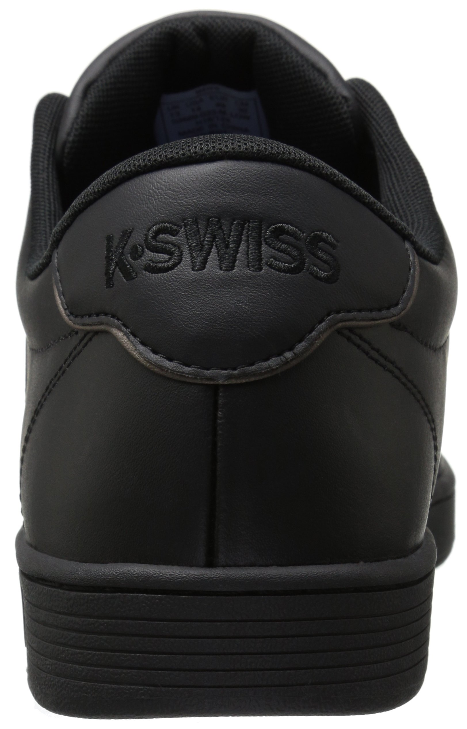 K-Swiss Men's Court PRO II Fashion Sneaker, Black/Gunmetal, 11 M US