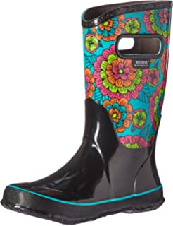 Bogs Kids' Pansies Rain Boot