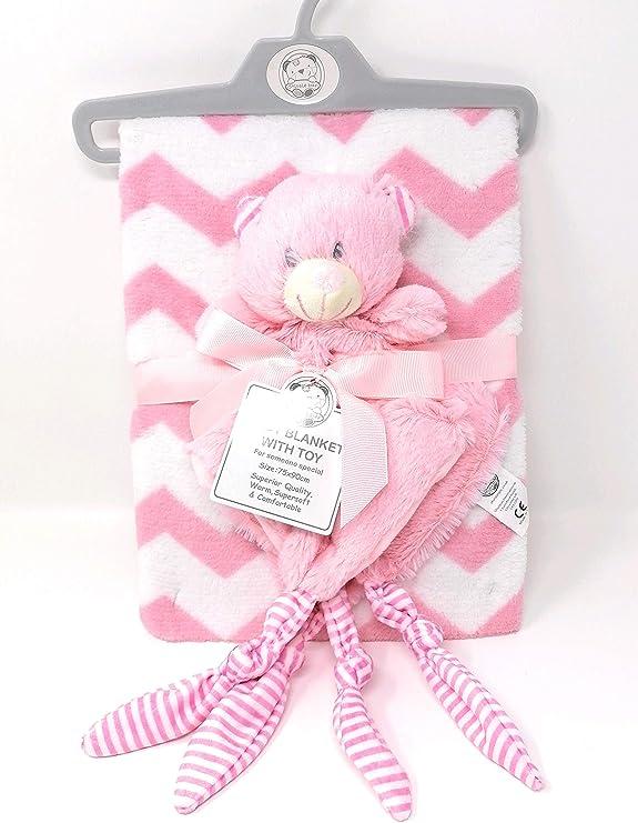 Juego de somier ajustable para bebé recién nacido, color rosa ...