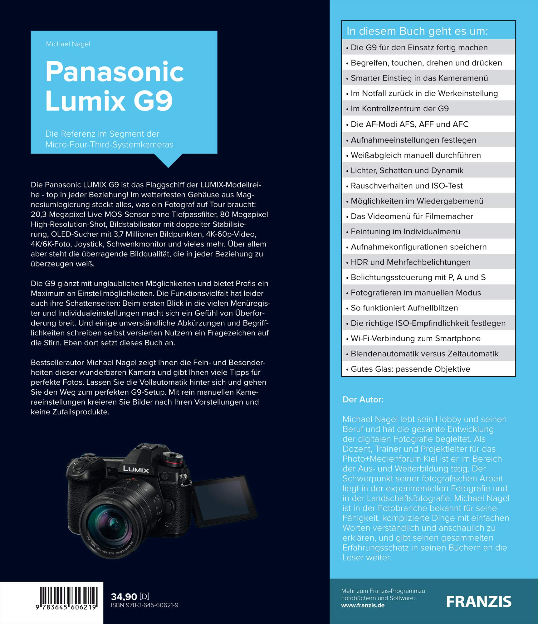Kamerabuch Panasonic LUMIX G9: Amazon.es: Michael Nagel: Libros en ...