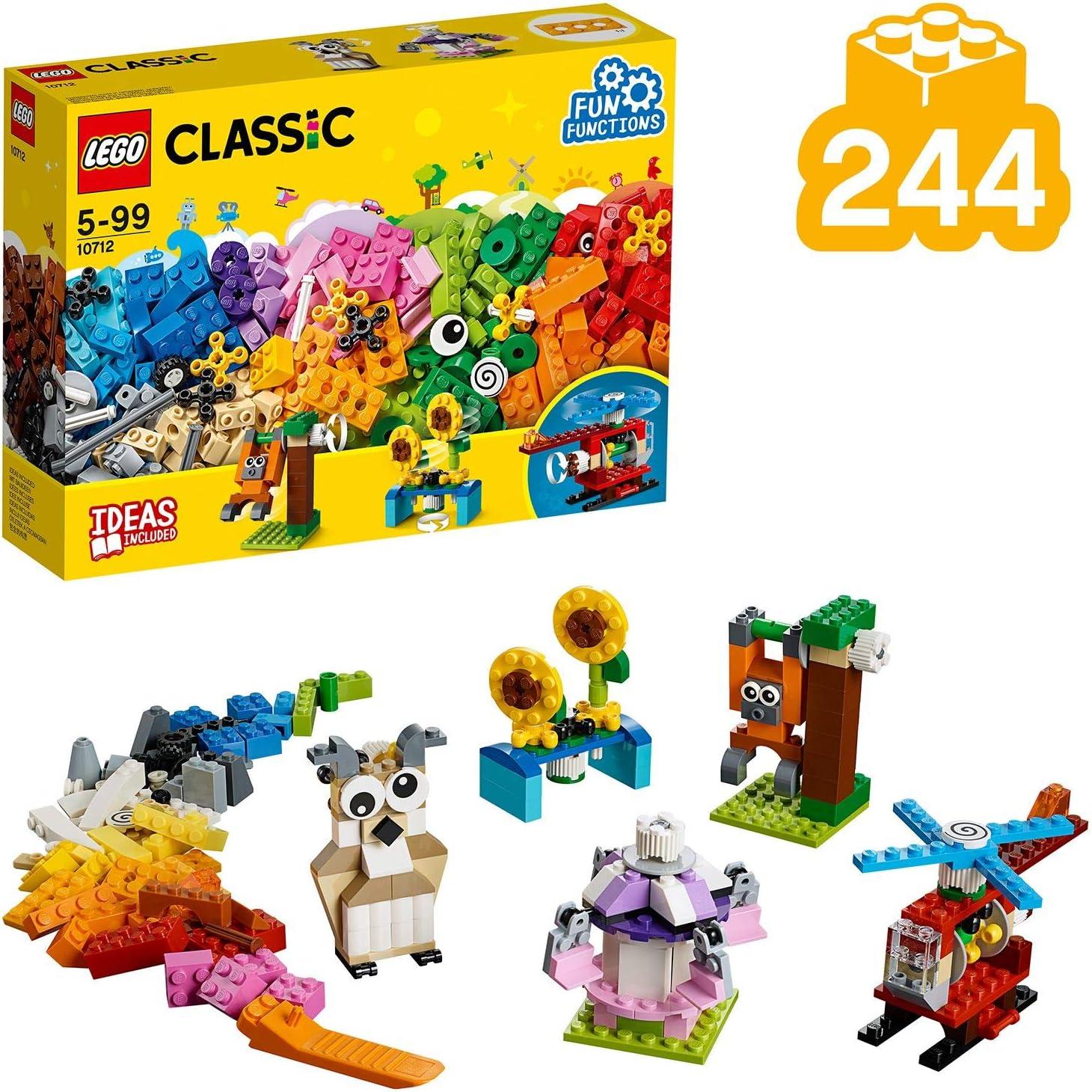 LEGO Classic - Ladrillos y Engranajes, Juguete de Construcción ...