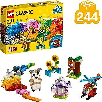 LEGO Classic - Ladrillos y Engranajes, Juguete de Construcción Creativo y Educativo para Niñas y Niños de más de 5 Años (10712): Amazon.es: Juguetes y juegos