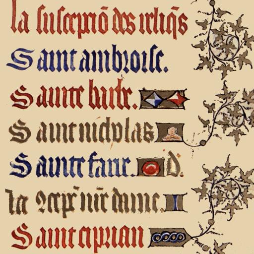 Catholic Calendar from Universalis ()