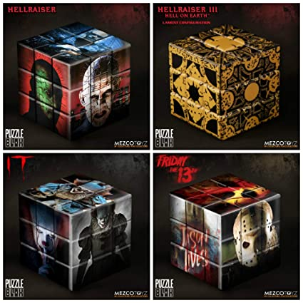 Puzzle Blox Puzzle Cube Friday the 13th Jason Voorhees