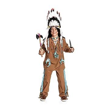 Kostumplanet Indianer Kostum Kinder Jungen Kinder Kostum Wilder