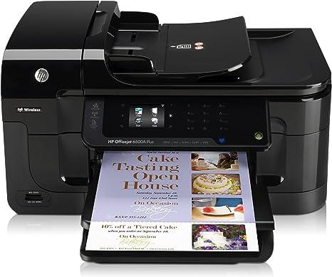 HP Officejet Impresora HP Officejet 6500A Plus e-All-in-One ...