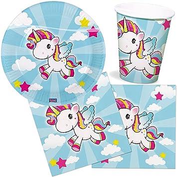 37 Juego de set de fiesta * Baby Unicornio * para fiestas de ...