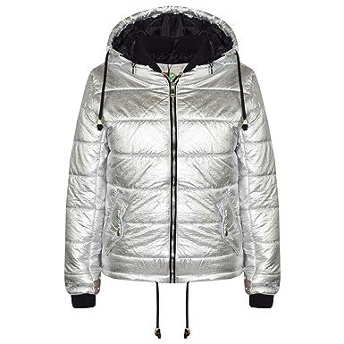 A2Z/® Kids Girls Boys Steel Grey Sleeveless High Neck Padded Gilet Bodywarmer Jackets