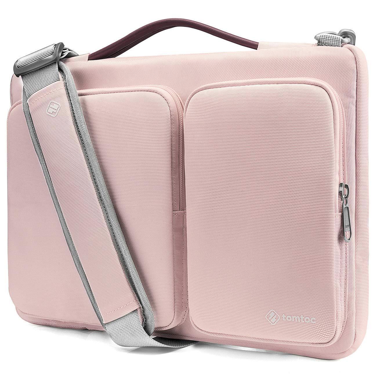 A1990 /& A1707 | Chromebook ThinkPad Acer HP da 14 Pollici tomtoc Custodia 14 Pollici Original Borsa a Tracolla per Laptop per MacBook PRO Touch Bar da 15 Pollici Nero