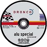 Dronco CS60ALU - Disco de corte metal Aluminio Special Express para máquina portátil (125 x 1,2 mm)