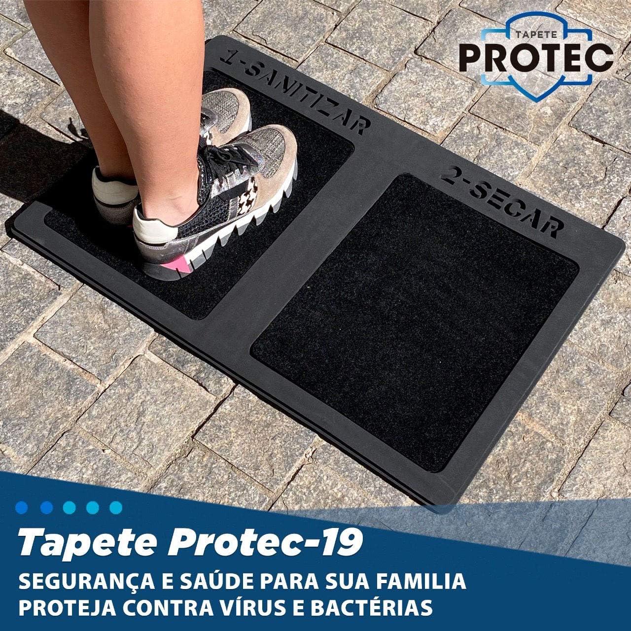 TAPETE SANITIZANTE HIGIENIZADOR DE CALÇADOS
