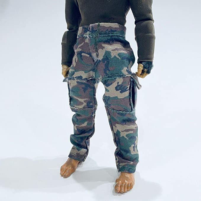 No Figure Camo Green Army Pants  for Mezco Punisher Marvel Legends