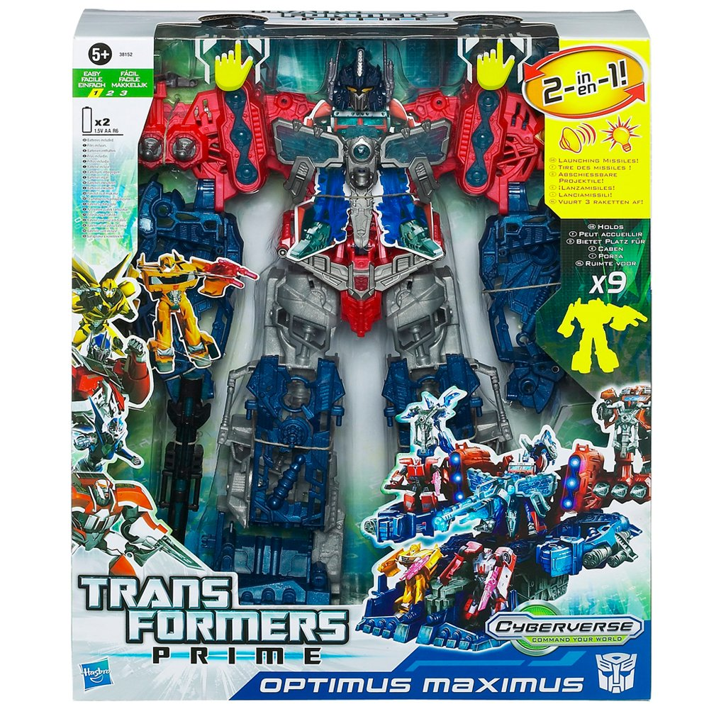 Hasbro - Transformers 38152148 - Prime Cyberverse Optimus Maximus