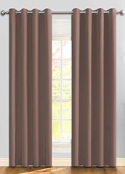 Ifblue Best Room Darkening Thermal Insulated Grommet Window Curtains Blackout Drapes For Bedroom