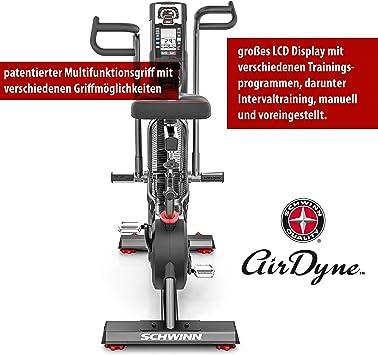 Schwinn - Bicicleta Estática y Spinning Airdyne AD8-AIR Bike Pro ...
