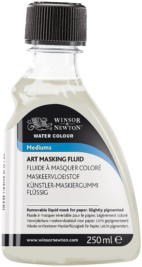 Winsor & Newton 3039759 Aquarell Maskiergummi flüssig, Künstler-Maskierflüssigkeit wird zum Maskieren von Papier verwendet, 2